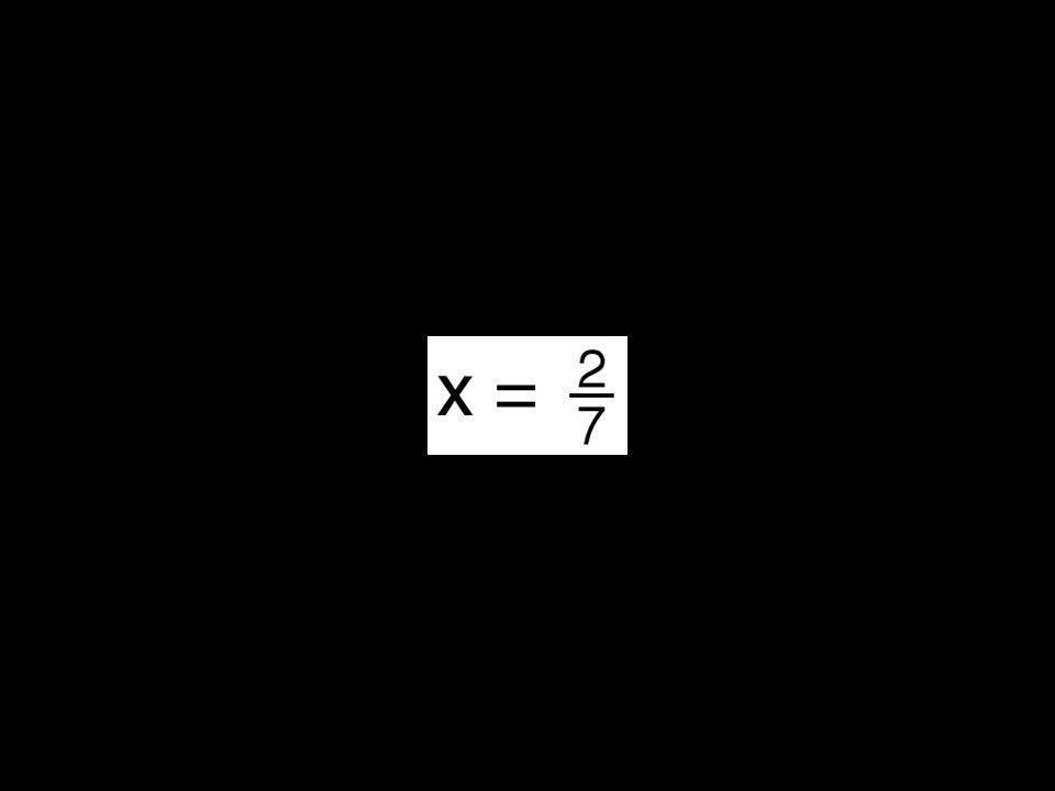 2x = .| Nein. x ist nicht Element des Definitionsbereichs D.