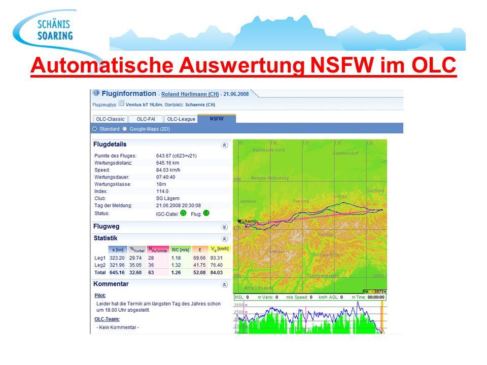 Automatische Auswertung NSFW im OLC