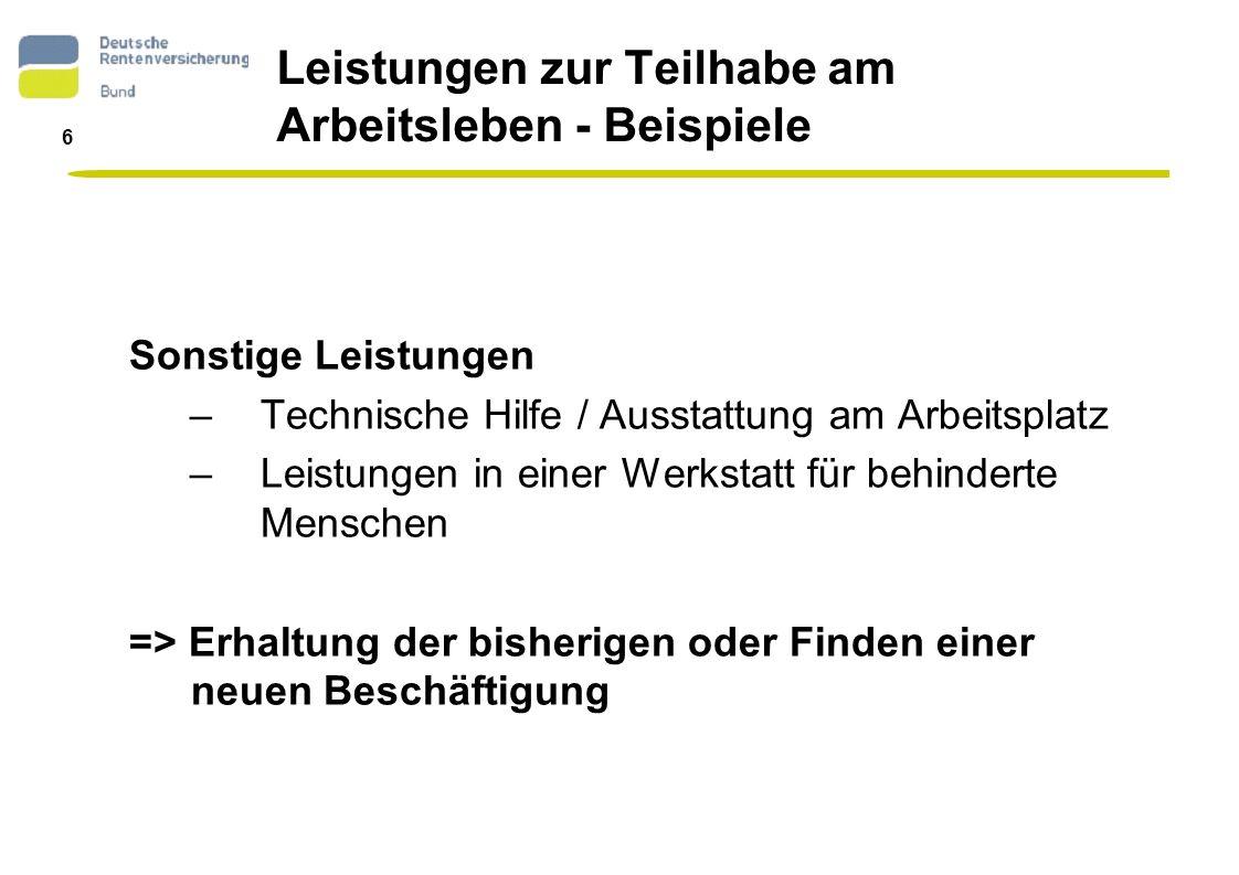 7 Rehabilitationsberatungsdienst - Struktur Dezentrale Struktur Bundesweites Beratungsangebot 150 Berater bundesweit 27 Berater in NRW 2 Berater für die Stadt Köln Entscheidungskompetenz vor Ort