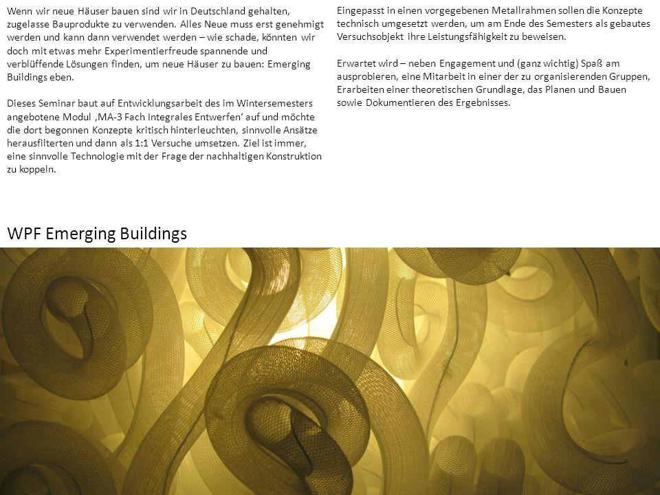 Wenn wir neue Häuser bauen sind wir in Deutschland gehalten, zugelasse Bauprodukte zu verwenden.