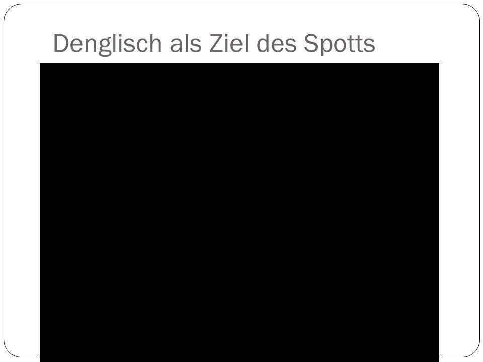 Das Besondere an Anglizismen im Deutschen a.