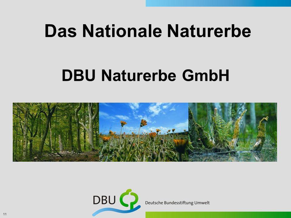 11 DBU Naturerbe GmbH Das Nationale Naturerbe