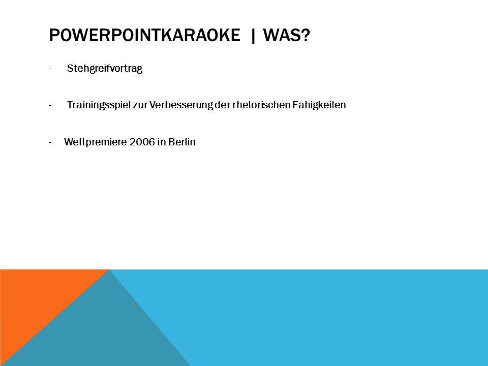 POWERPOINTKARAOKE | WOFÜR.