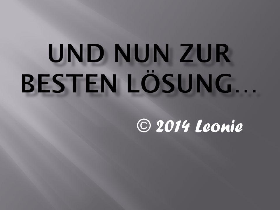 © 2014 Leonie