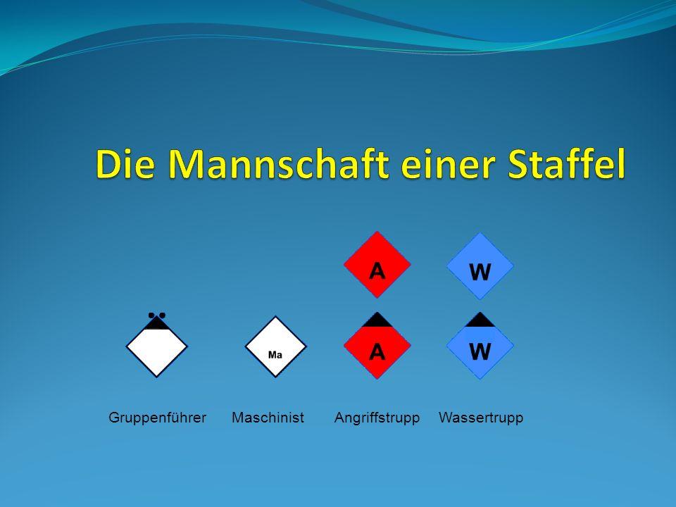 Bei beiden Einsatzformen arbeitet der Melder nach Anweisung des Gruppenführers.