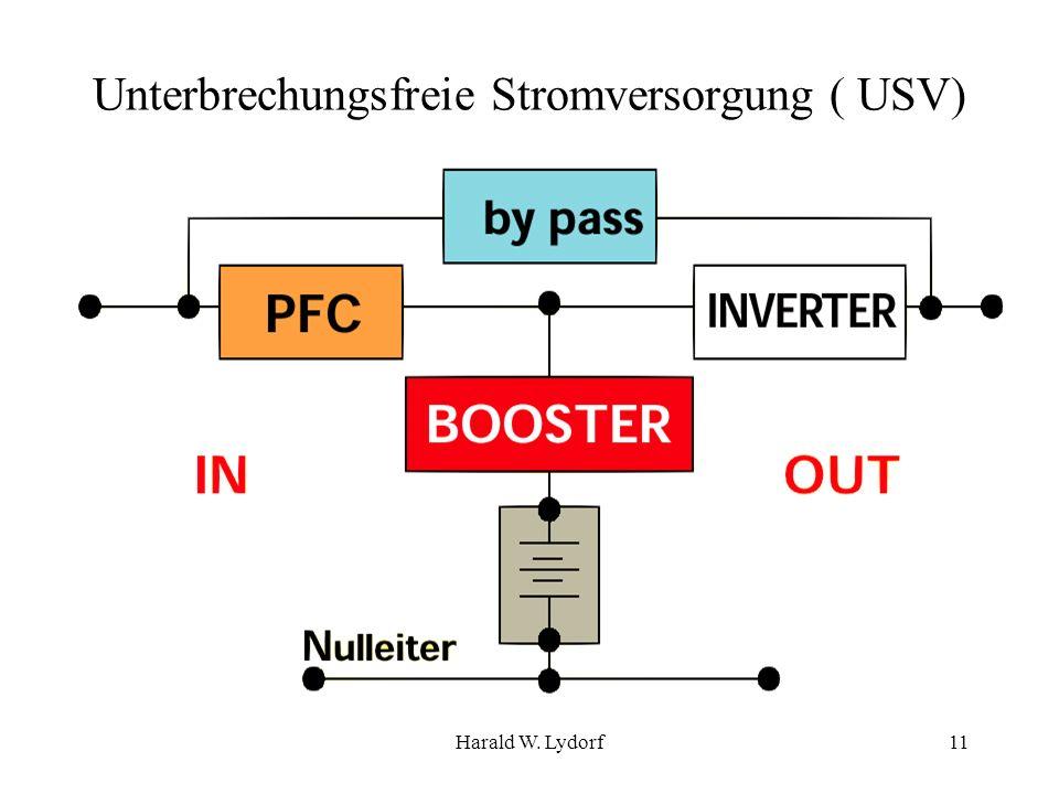 Harald W. Lydorf11 Unterbrechungsfreie Stromversorgung ( USV)
