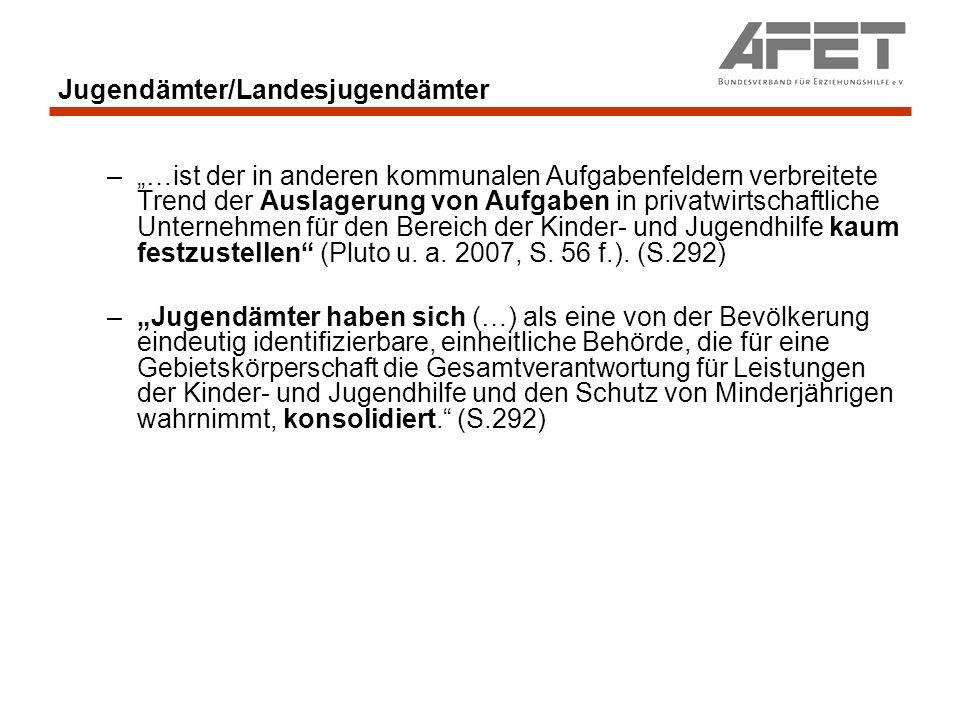 Jugendämter - Kritik Kritik an dem Alltagshandeln einzelner Ämter.