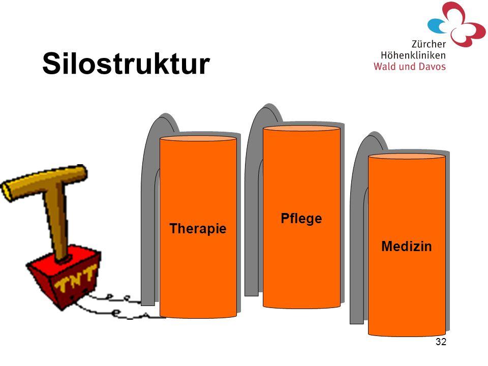 32 Therapie Pflege Medizin Silostruktur