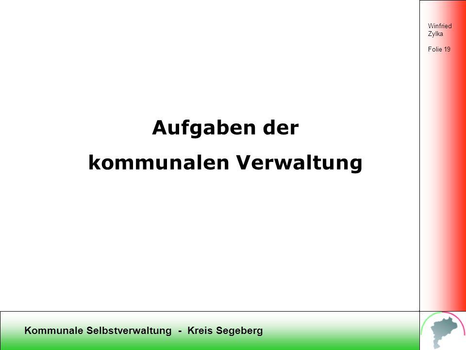 Kommunale Selbstverwaltung - Kreis Segeberg Winfried Zylka Folie 18 Wie kommen Entscheidungen der Gremien zustande? Thema: Alternativanträge Antrag 1