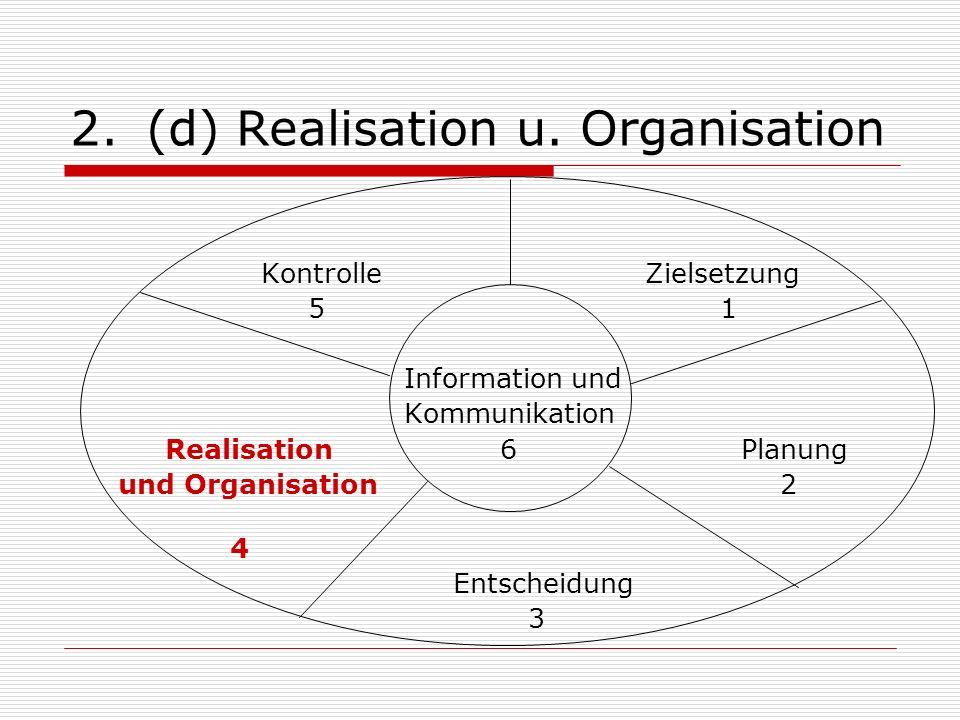 2.(d) Realisation u.