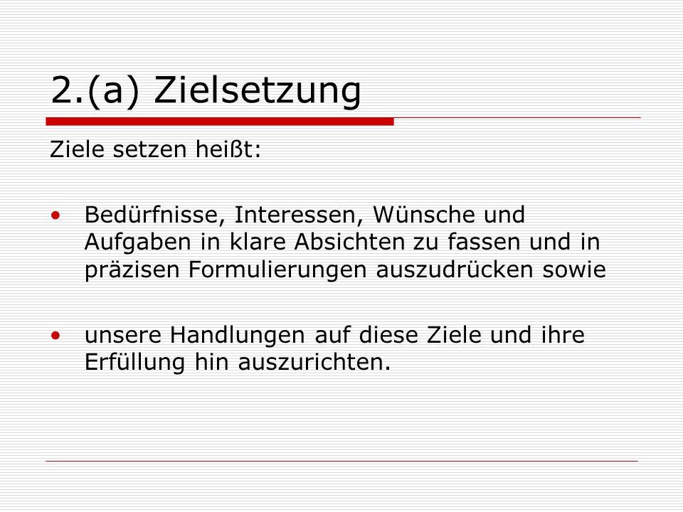 2.(f) Information und Kommunikation Die Slalomtechnik: