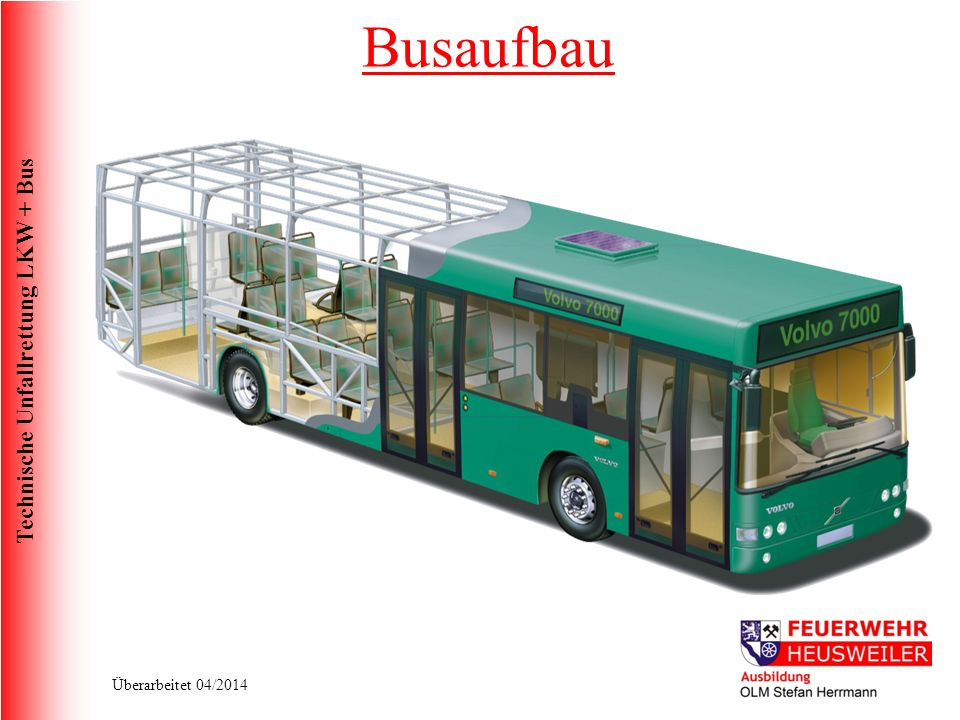 Technische Unfallrettung LKW + Bus Überarbeitet 04/2014 Busaufbau