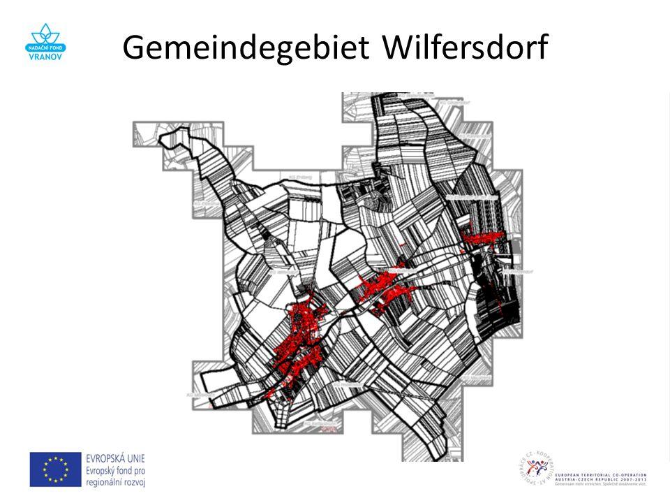 Gemeindegebiet Wilfersdorf