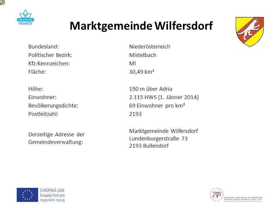 Bundesland:Niederösterreich Politischer Bezirk:Mistelbach Kfz-Kennzeichen:MI Fläche:30,49 km² Höhe:190 m über Adria Einwohner:2.115 HWS (1. Jänner 201