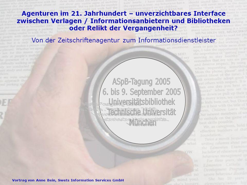ASpB-Tagung 2005, 6.Bis 9.