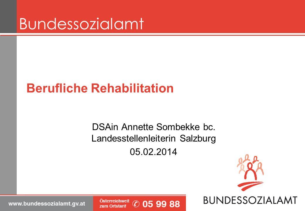 Berufliche Rehabilitation DSAin Annette Sombekke bc.