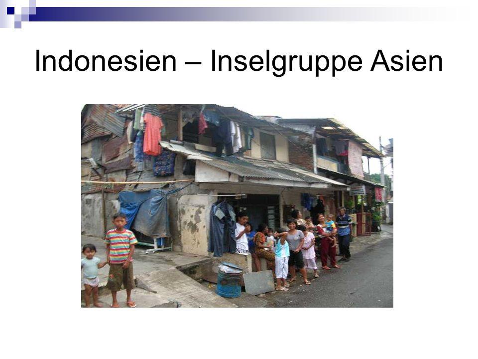 Indonesien – Inselgruppe Asien