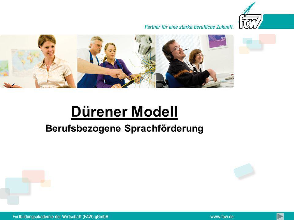 Dürener Modell Berufsbezogene Sprachförderung
