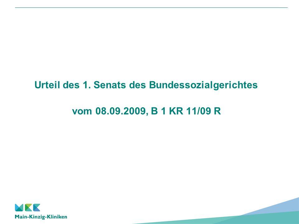 Reinhard Schaffert Medizincontrolling Main-Kinzig-Kliniken Urteil des 1.