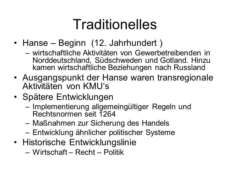 Traditionelles Hanse – Beginn (12.