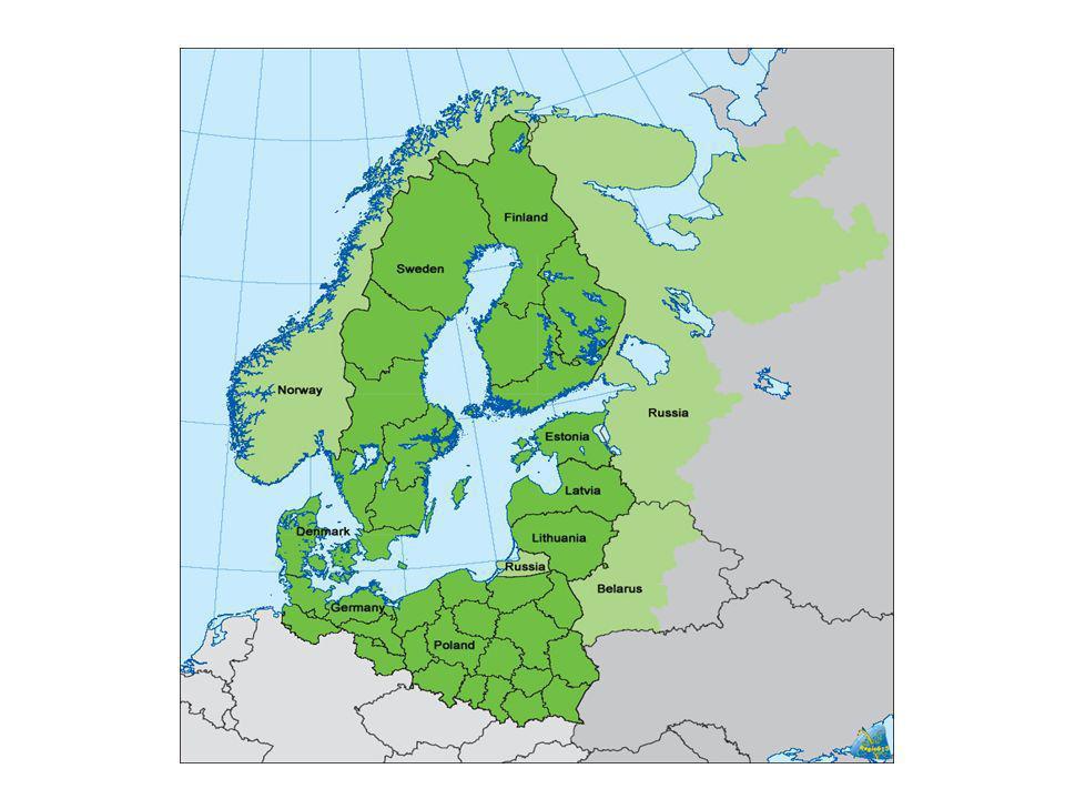 Ostseebevölkerung und BIP