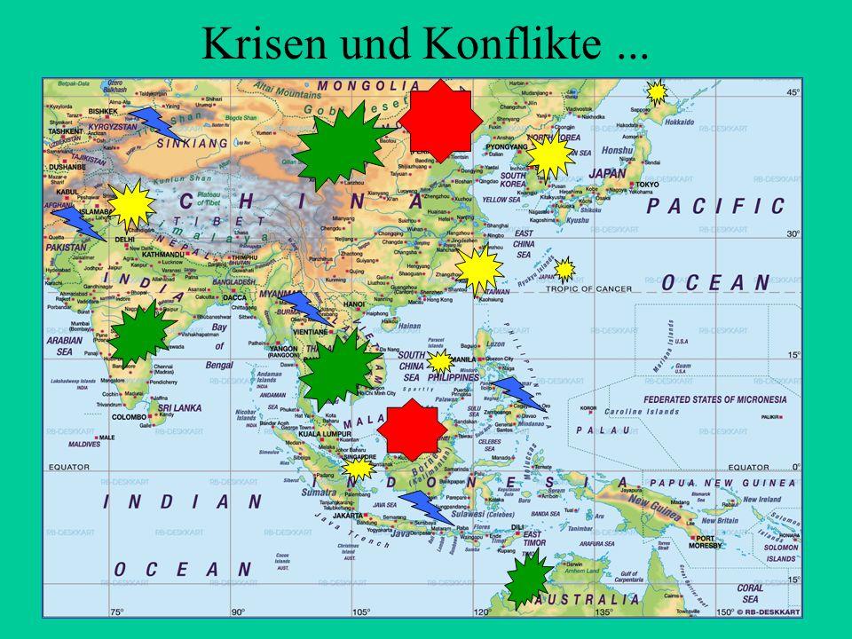 Krisen und Konflikte...