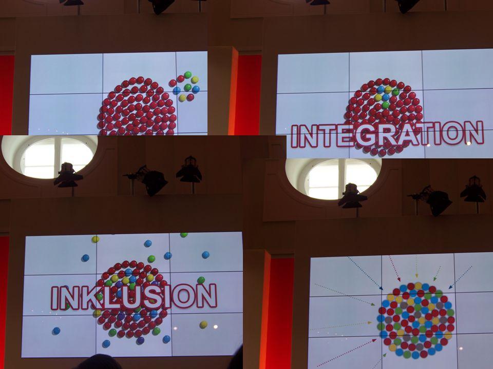 Inklusion bedeutet, Vielfalt willkommen zu heißen und Konstruktionen von jeweils zwei Gruppen kritisch in den Blick zu nehmen zugunsten eines ununterteilbaren individuellen Spektrums.
