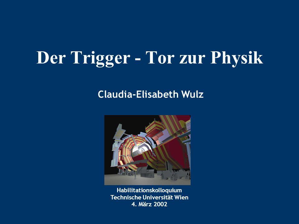 Habilitationskolloquium Technische Universität Wien 4.