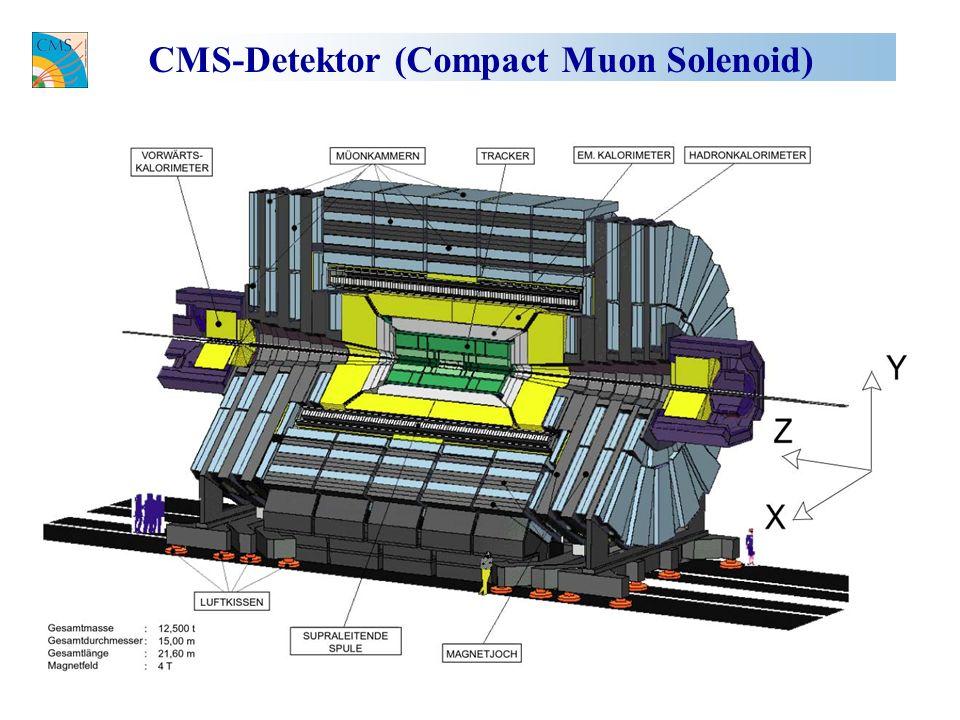 CMS-Detektor (Compact Muon Solenoid)
