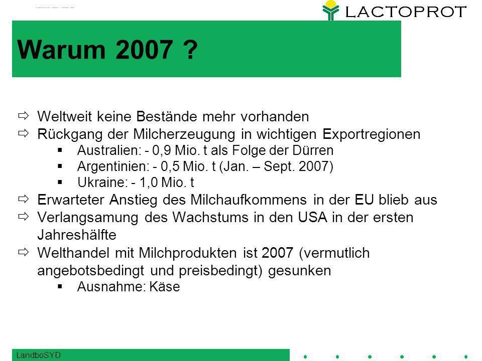 LandboSYD Warum 2007 .