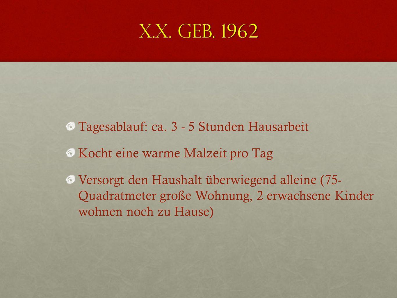 X.X. geb. 1962 Lendenwirbelsäule erscheint leicht bewegungseingeschränkt, endgradig schmerzhaft Mäßiger Muskelhartspann lumbal, mehrere Blockierungen