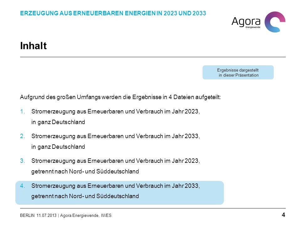 Inhalt Aufgrund des großen Umfangs werden die Ergebnisse in 4 Dateien aufgeteilt: 1.Stromerzeugung aus Erneuerbaren und Verbrauch im Jahr 2023, in gan