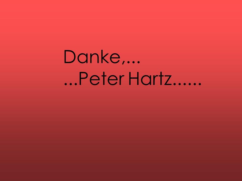 Danke,......Peter Hartz......