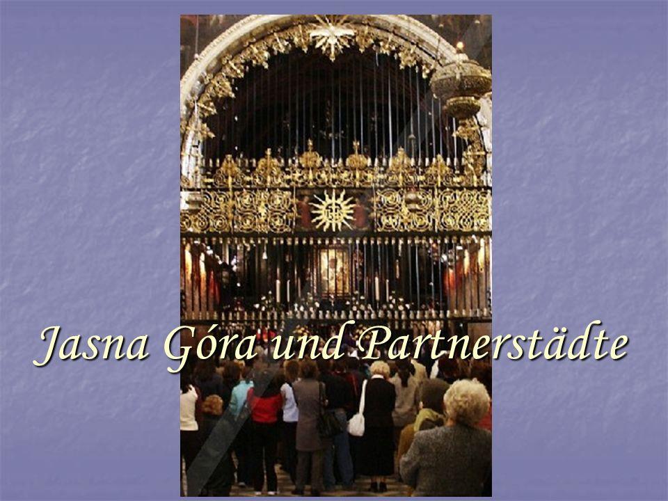 Jasna Góra Góra und Partnerstädte