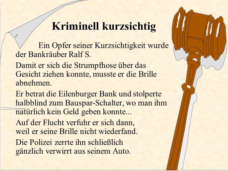 Kriminell vom Bund Ein Bundeswehrsoldat überfiel mit Strumpfmaske und Uniform eine Bank. Trotz seiner Maskierung konnte er schnell identifiziert werde