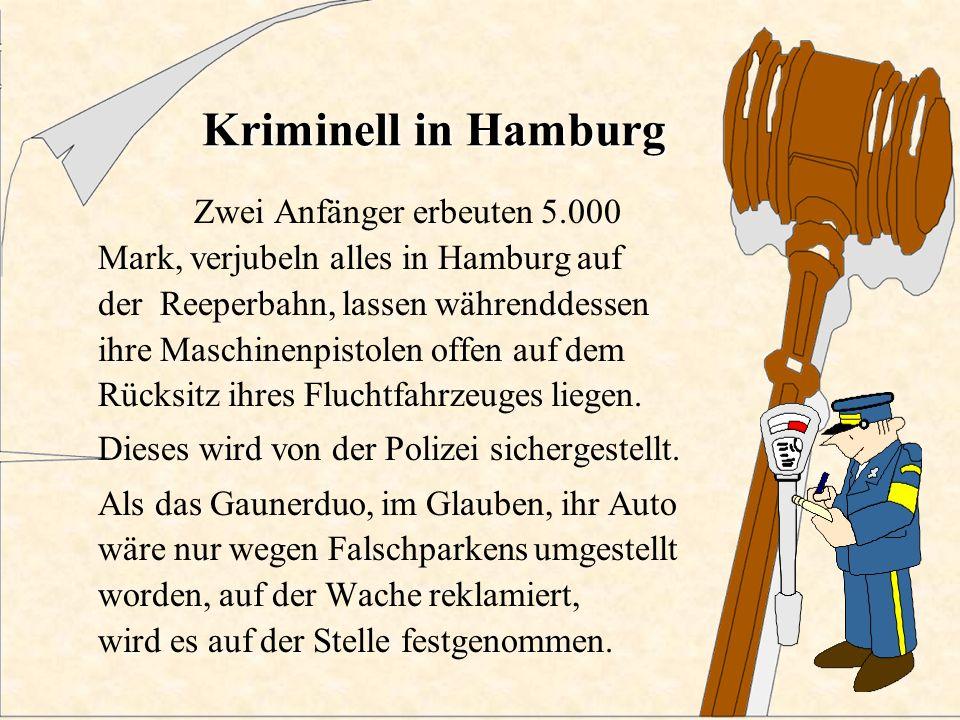 Kriminell in Frankfurt In Frankfurt verkeilt sich ein Einbrecher im Fenster einer Diskothek; die Feuerwehr musste ihn mit Schneidbrennern befreien, da