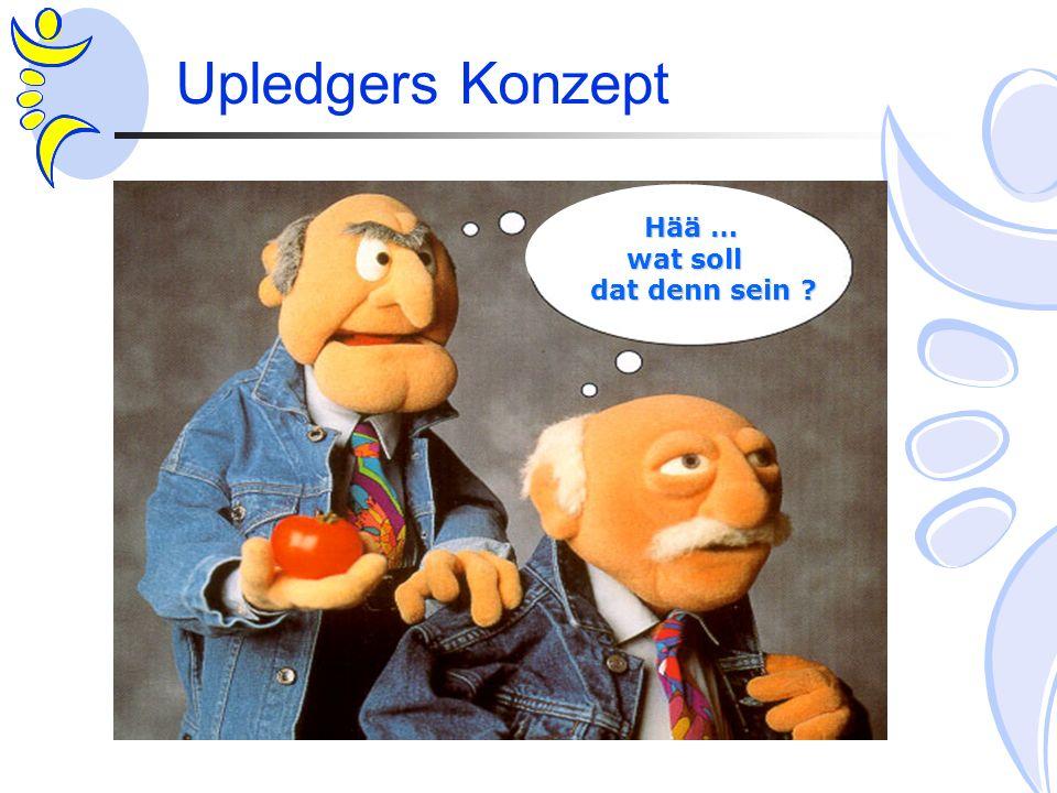 Upledgers Konzept Hää … Hää … wat soll wat soll dat denn sein ? dat denn sein ?