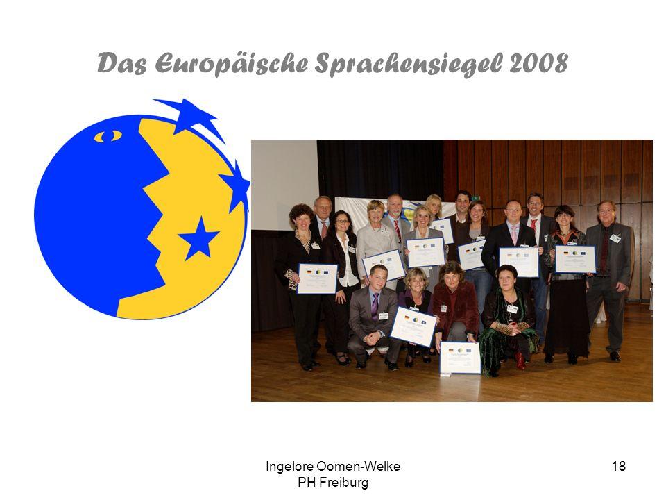 Ingelore Oomen-Welke PH Freiburg 17