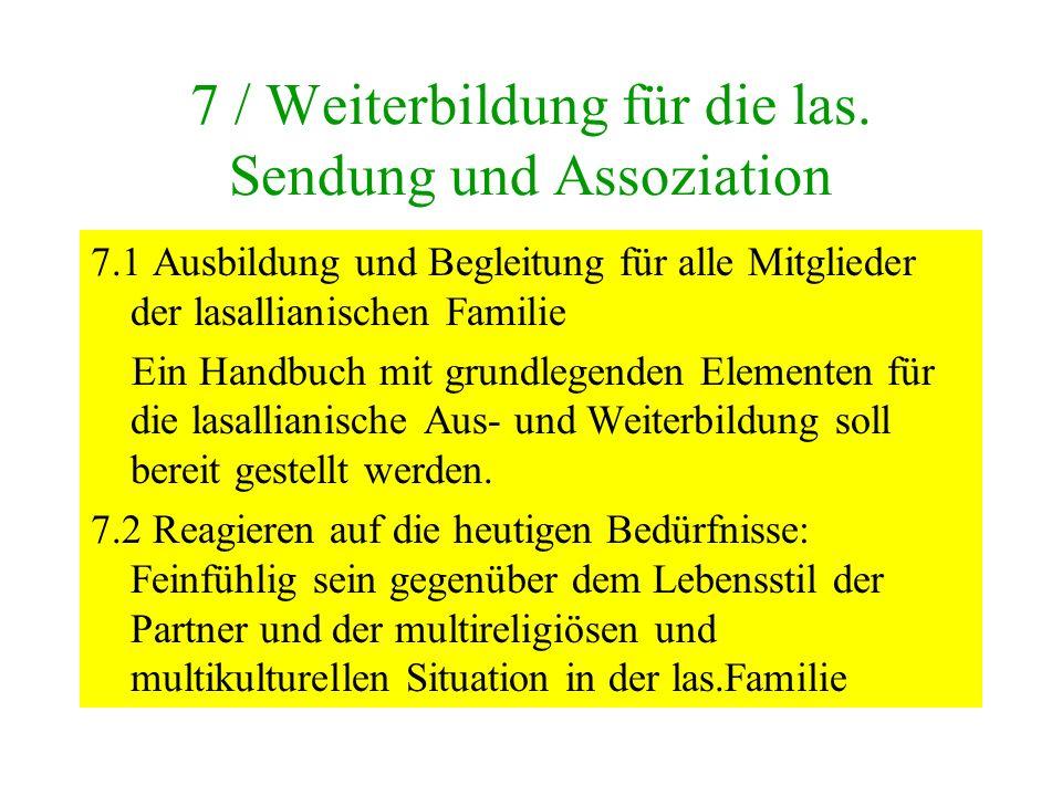 7 / Weiterbildung für die las.