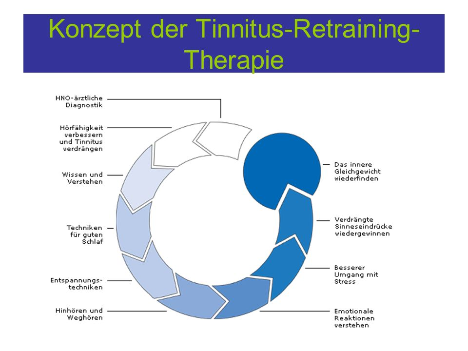 Konzept der Tinnitus-Retraining- Therapie