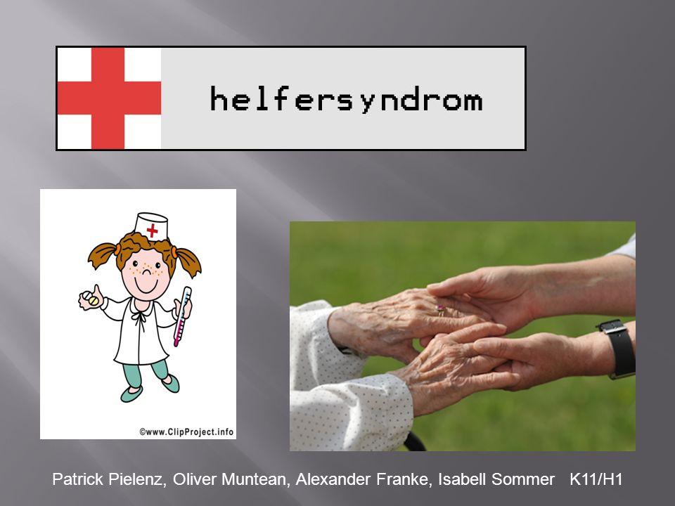 1.Helfen als kommunikatives Grundmuster 2.Pathologisches Helfen 2.1.