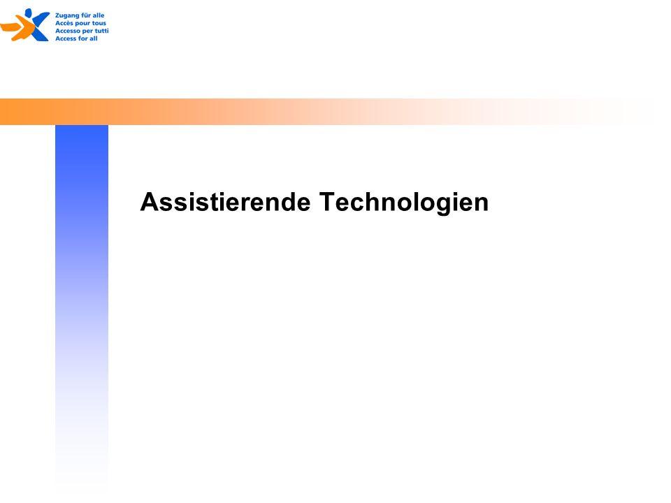 17. Mai 2014 Assistierende Technologien