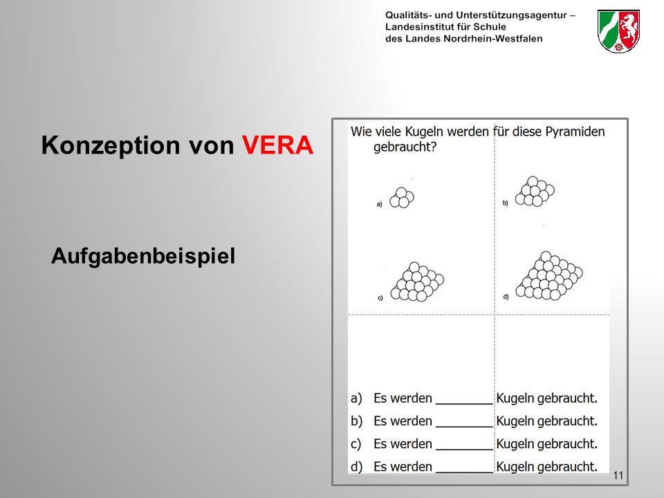 11 Aufgabenbeispiel Konzeption von VERA