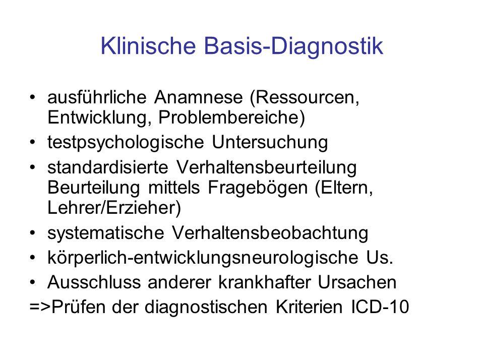 ADHS ist eine beschreibende Diagnose.