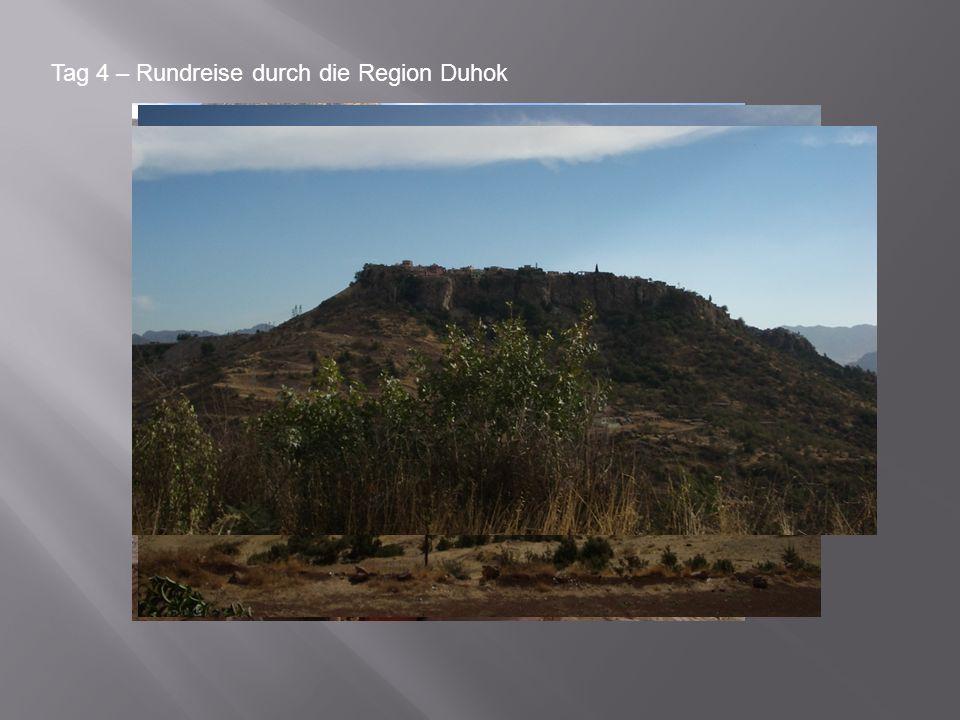 Tag 4 – Rundreise durch die Region Duhok