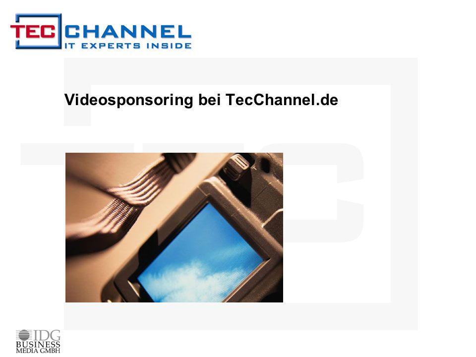 Videosponsoring bei TecChannel.de