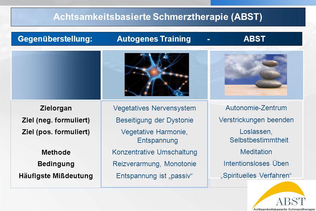YOUR LOGO Achtsamkeitsbasierte Schmerztherapie (ABST) Vegetatives Nervensystem Beseitigung der Dystonie Vegetative Harmonie, Entspannung Konzentrative