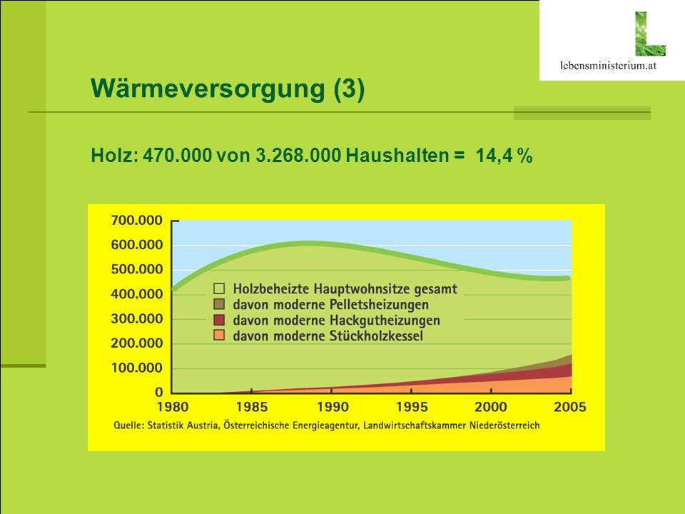 Ökostrom (1) Umsetzung der EU Grünstrom-Richtlinie 78,1 % Strom aus Erneuerbaren bis 2010 (gegenüber 70 % im Jahr 1997) Ökostromgesetz 2008: 5,75 % Ökostromgesetz – unterstützt seit 2003...