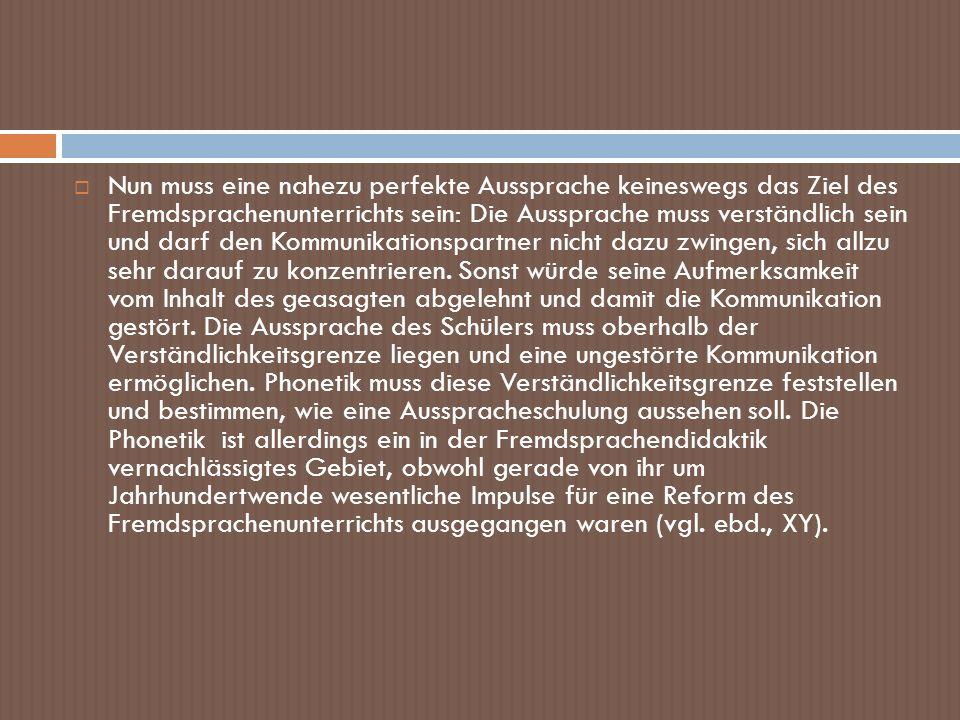 Phonetische Transkription des Textes aus dem Lehrbuch: [ Ι ç b Ι n marti:n la ŋ | Ι ç vo:n ә | Ι n t ʃ ε çi ә n ʃ | Ι ç ma:k p Ι tsa | Ι ç haes ә pe:t ɐ ʃ varts ʃ | Ι ç vo:n ә | Ι n b ε rli:n | Ι n doø t ʃ lant ʃ | Ι ç ma:k | aes]