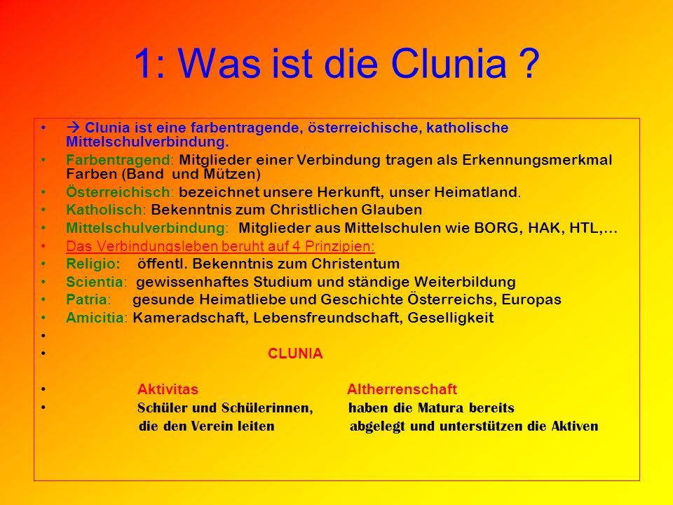1: Was ist die Clunia .